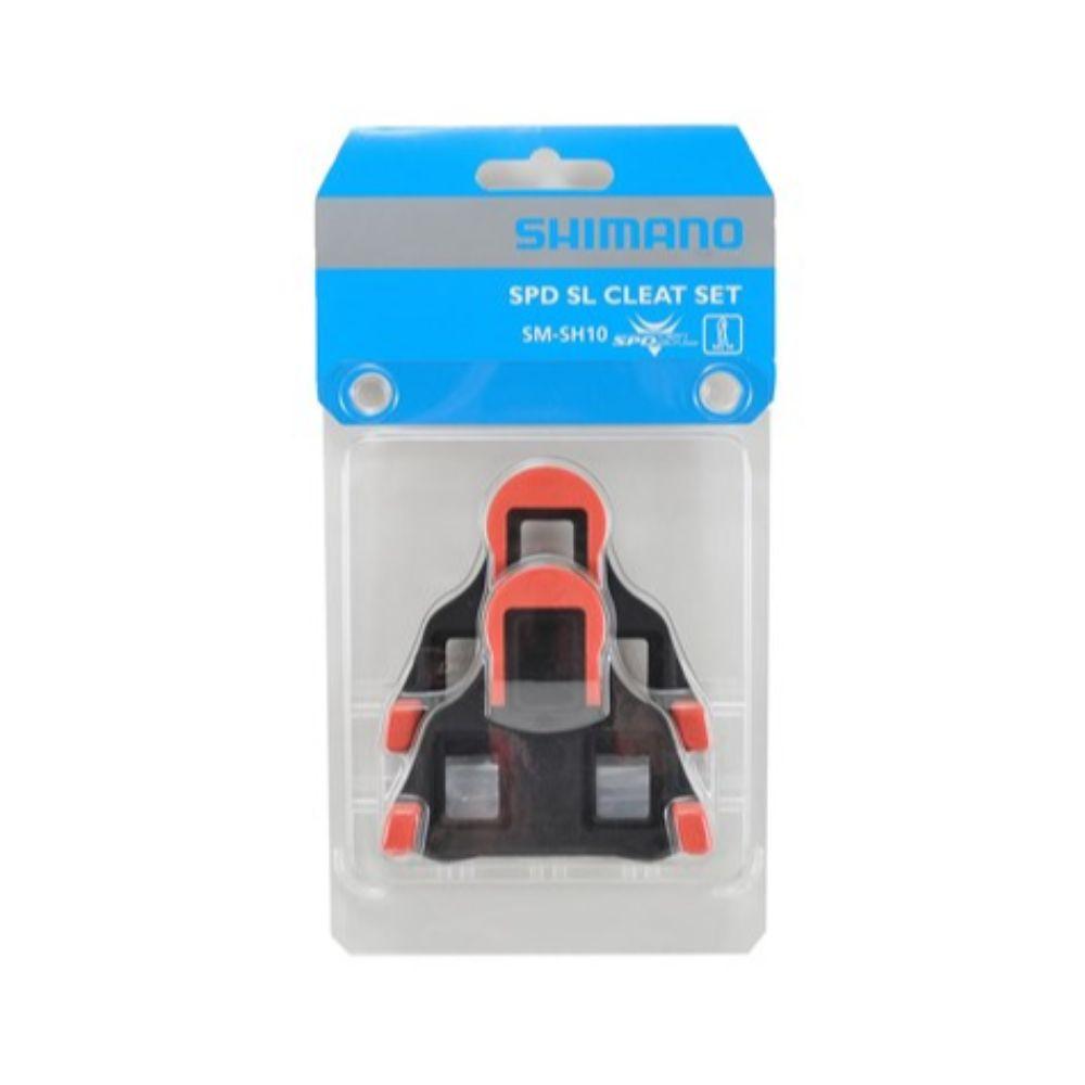 Shimano Blokeje Shimano SM-SH10 SPD SL crvena/0 stupnjeva