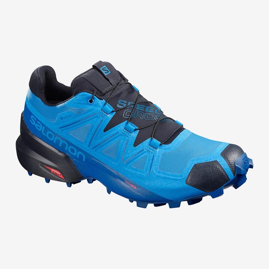 Salomon Cipele Salomon Speedcross 5 GTX plava/tamnoplava